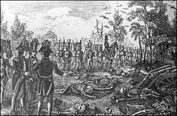 Aftermath of the Dade Battle (1835)