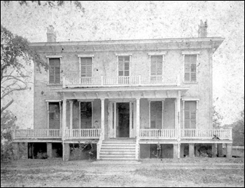 The Chaires Mansion formerly located at 534 North Monroe Street: Tallahassee, Florida