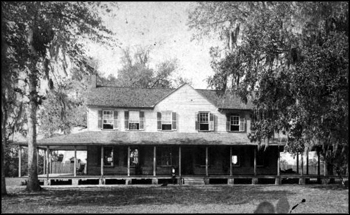 Live Oak Plantation house: Leon County, Florida (1889)