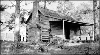 Employee cabin at Killearn Plantation and Gardens: Tallahassee, Florida (1925)