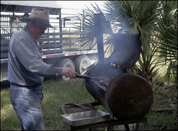 VIDA Ranch barbecue, Osceola County, November 2007.