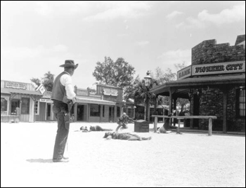 Wild west show at Pioneer City: Davie, Florida (1967)