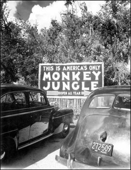 Entrance to Monkey Jungle: Miami, Florida (1946)