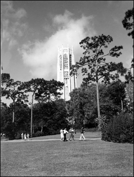 View of Bok Tower: Lake Wales, Florida (1947)