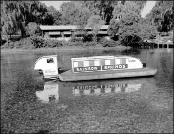 Submarine boat, &quot;Mermaid&quot;: Rainbow Springs, Florida