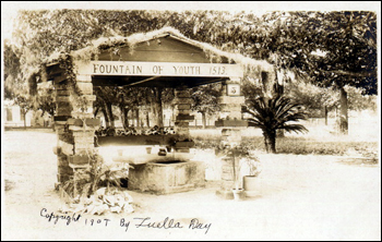 &quot;Fountain of Youth 1513&quot;: Saint Augustine, Florida (ca. 1907)