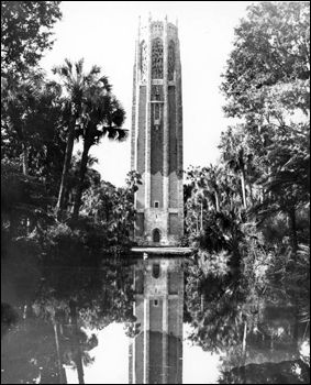 Bok Tower in Lake Wales, Florida (19--)