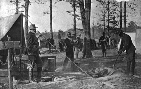 Cooking for the 9th U.S. Cavalry (1898)