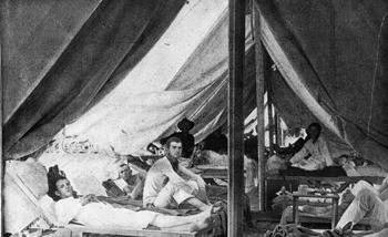 Fever wards at the division hospital: Jacksonville, Florida (1898)