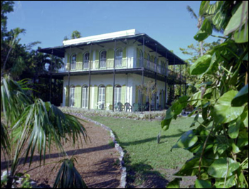 View of the south side of the Hemingway House. (1998)