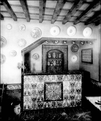 Spanish bar inside Playa Riente: Palm Beach, Florida (ca. 1928)