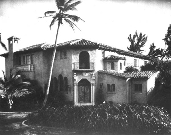 La Bellucia: Palm Beach, Florida (1928)