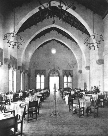 Dining room of the Cloister: Boca Raton, Florida (ca. 1928)