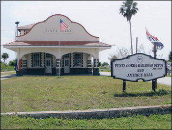 Punta Gorda Railroad Depot and Antique Mall (ca. 2006)