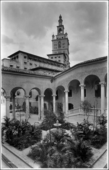 Garden at the Miami Biltmore Hotel: Coral Gables, Florida (ca. 1926)
