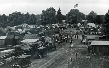 View of the Tin Can Tourists camp: Gainesville, Florida (192-)