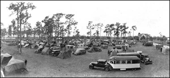 Tin Can Tourists convention: Arcadia, Florida (1931)