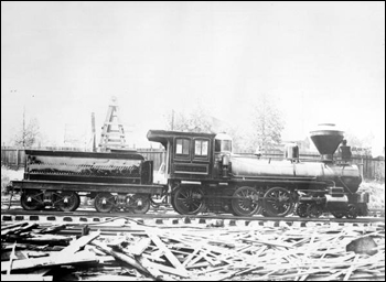 Gulf, Florida, and Alabama engine number 6 (1871)