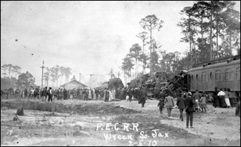 Train wreck: Jacksonville, Florida (1910)