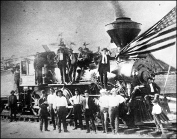 First train in Apalachicola (19__)
