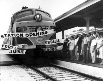 Station opening: Fort Lauderdale, Florida (1956)