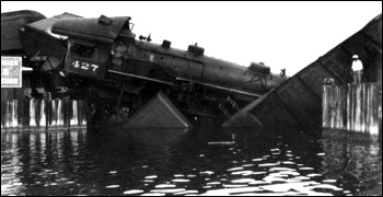 Florida East Coast Railway train wreck: Jupiter, Florida (1934)