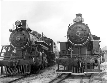 Gold Coast Railroad engines 153 and 113 : Fort Lauderdale, Florida (ca. 1970)