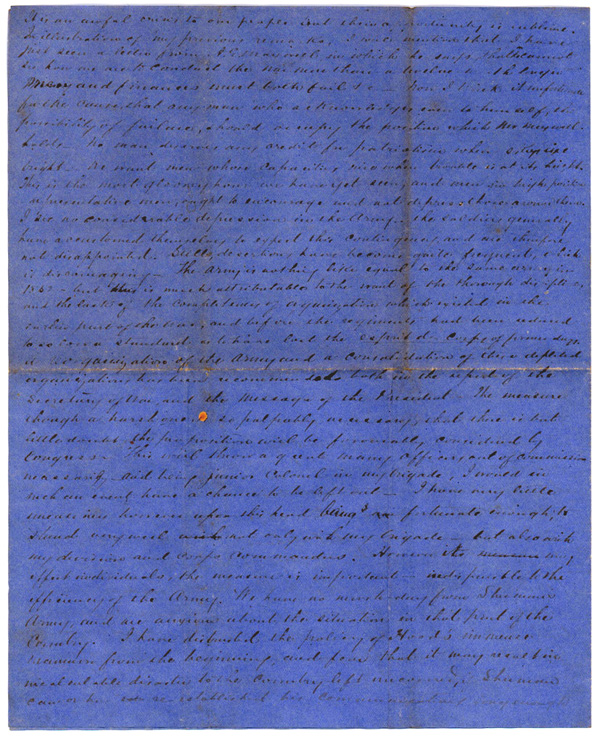 Letter, November 17, 1864, T. W. Brevard, 