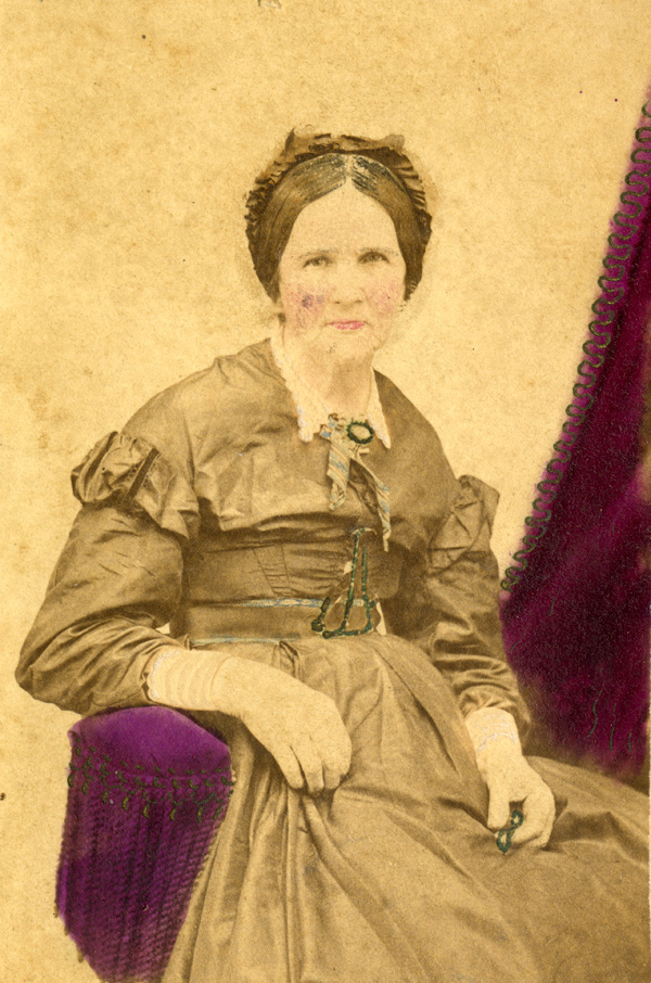 Portrait of Mrs. Martha Pittman