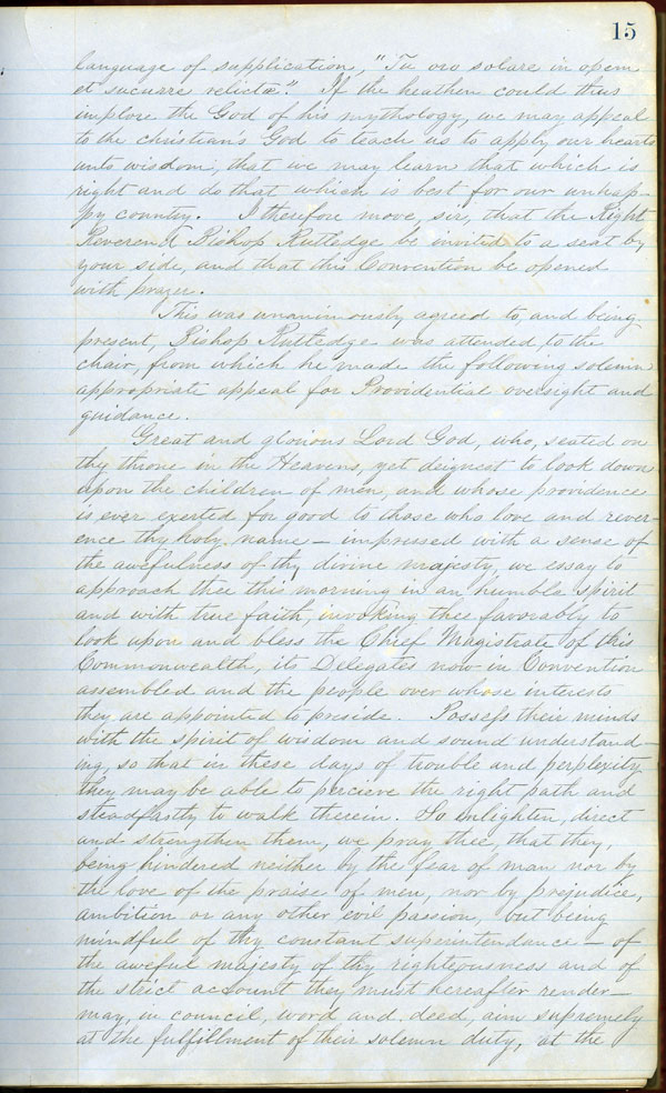 Florida Convention of the People, Minutes, 1861-1862.