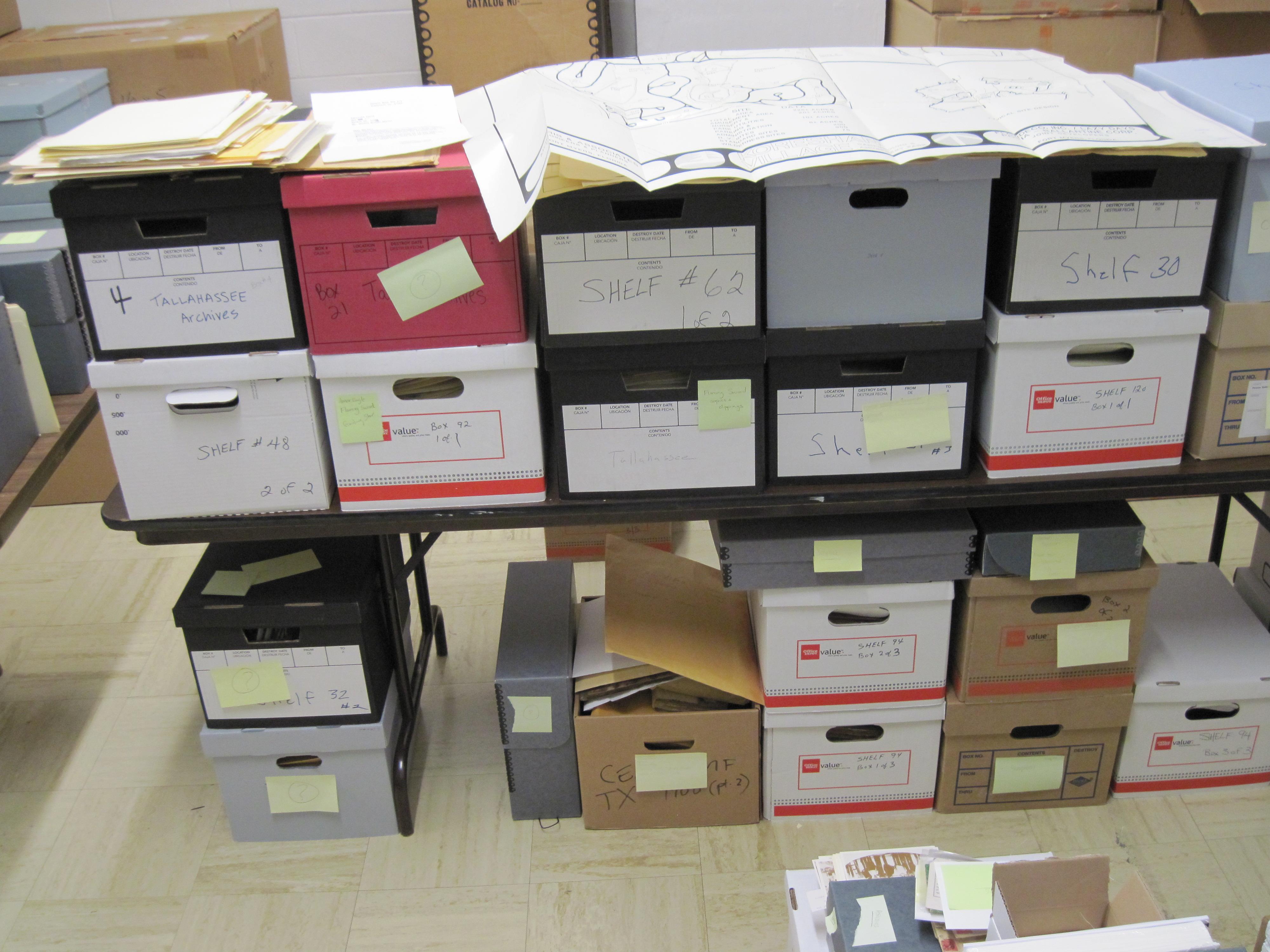 the florida memory blog unorganized administrative records