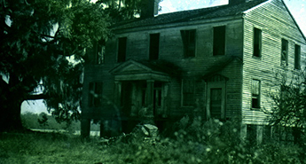 The old Gregory house before it was moved: Ocheesee Landing, Florida.