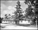 Mens dormitory at the FERA camp : Ocala, Florida (1936)