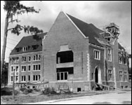 Construction of student union at the University of Florida (1935)