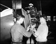 Vocational school flight mechanics : Ocala, Florida (ca. 1940)