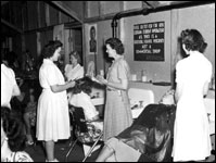 Vocational school beautician training : Ocala, Florida (ca. 1940)