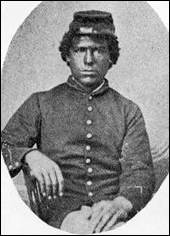 Soldier of the 54th Regiment, Massachusetts Volunteers
