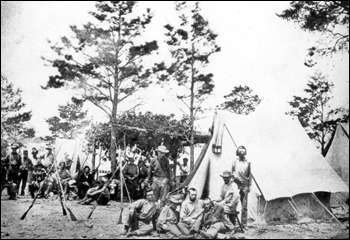 9th Mississippi unit during the Civil War: Pensacola, Florida (1861)
