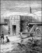 Battery Lincoln, erected upon Santa Rosa Island, Florida (1861)