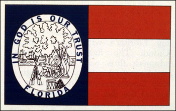 The 1861 State Flag of Florida