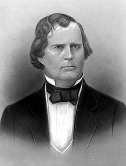 Governor Madison Starke Perry (ca. 1860)