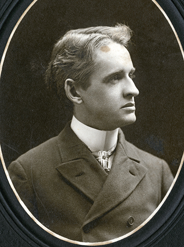 Portrait of Allen Andrews, circa 1890s