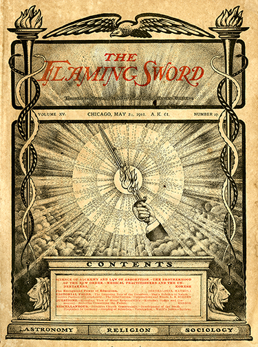 The Flaming Sword, May 24, 1901