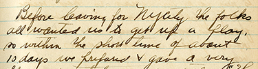 Excerpt from Claude Rahn&rsquo;s diary, March 1918