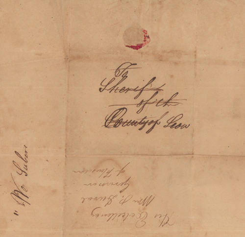 1826 Leon County Election Return