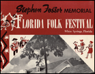 Recordings of the 1954 Florida Folk Festival