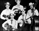 Bluegrass Duo Jim and Jesse with the Virginia Boys