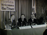 Governor H. Burns Walt Disney Press Conference