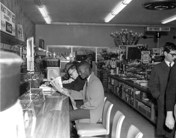 Sit-in at Woolworth's lunch counter: Tallahassee, Florida (1960)