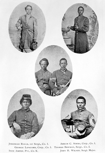 Soldiers of the 54th Regiment of Massachusetts Volunteers (18--)